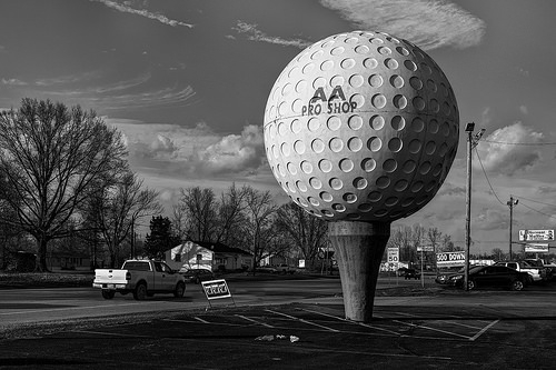 A Great Big Golf Ball