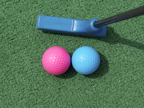 Flickr Mini-Golf