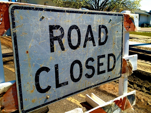 MYR Road Closed