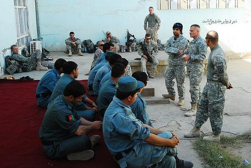 Police training continues in Kunduz