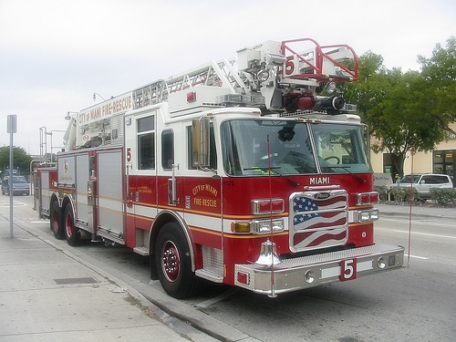 City Of Miami Fire Truck