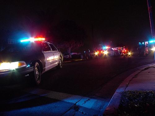 Santa's Police Escort
