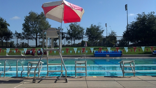 Avery Aquatic Center.