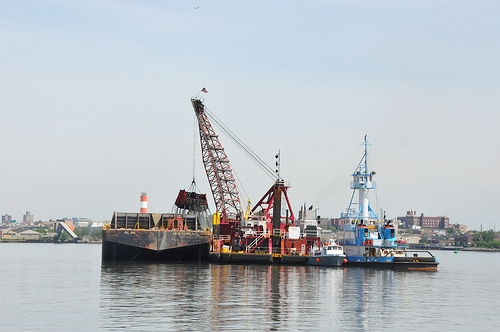 East River Dredging Operations, May 2011