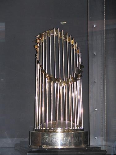 Arizona Diamondbacks 2001 World Series trophy