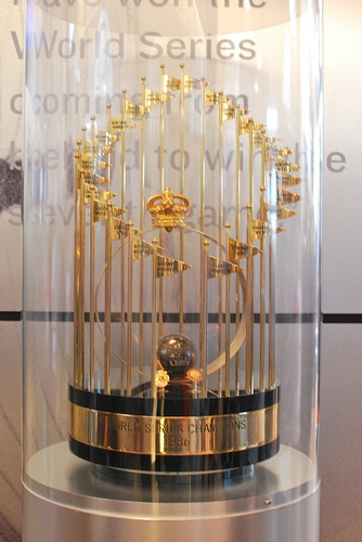 1986 World Series Trophy
