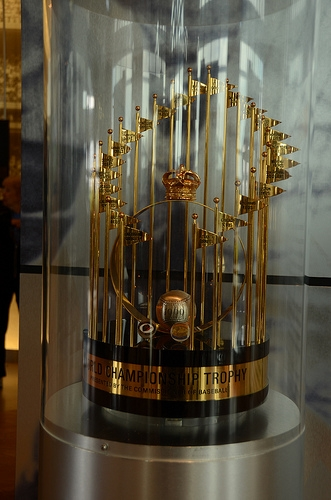 1969 World Series Trophy