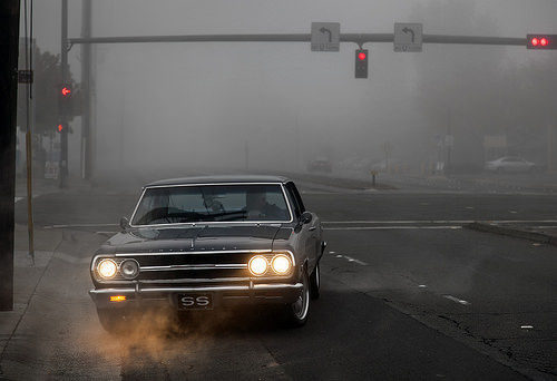 Chevelle in the fog