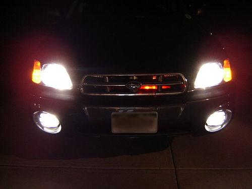 Subaru Baja w/Lightbar (ala KITT)