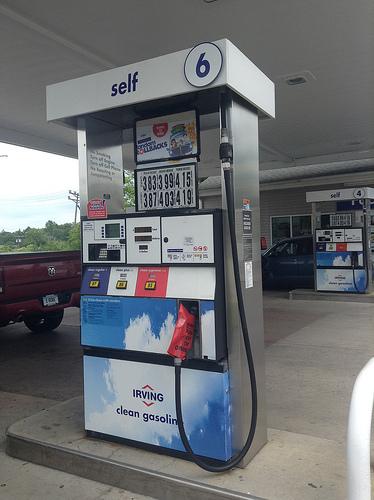 Irving Gas Pump