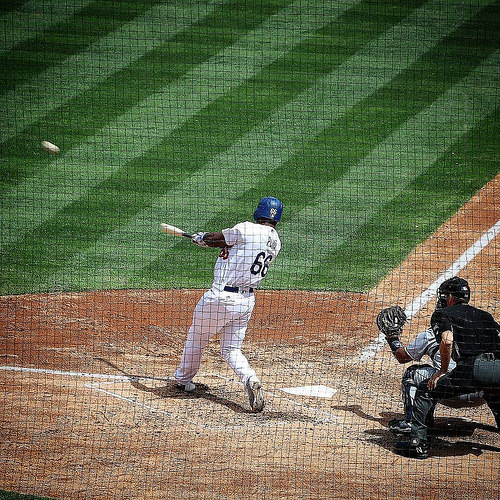 Puig Hits Second Home Run of the Game #puig #dodgers #homerun #puigyourfriend #mlb #baseball