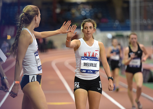 2015 Millrose Games - Armory - Women's USATF Championship Mile Walk