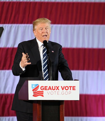 President Donald Trump, Republican, LAGOP GOTVR Dec2016 254