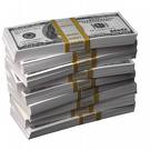 Stack of Money - Scraped from the Net