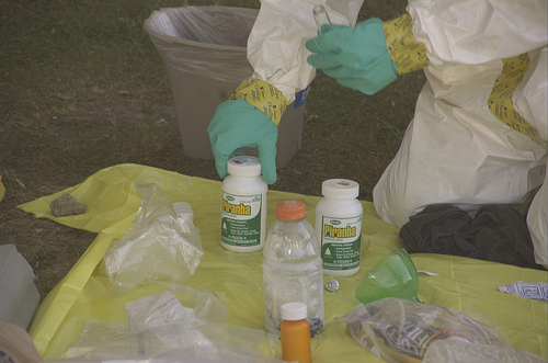 2011-10-05; meth cleanup at Rice Terrace in Bristol, Virginia