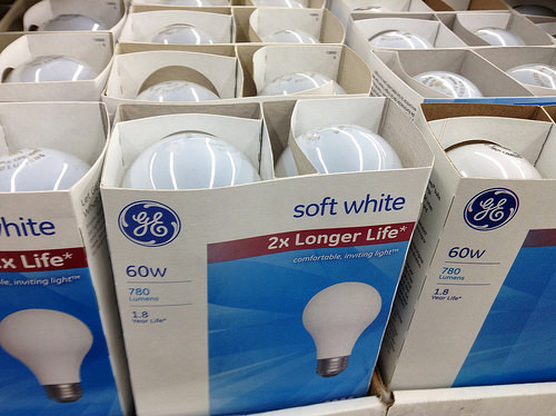 GE Lightbulbs, 9/2014 by Mike Mozart of TheToyChannel and JeepersMedia on YouTube, #Lightbulbs #GE