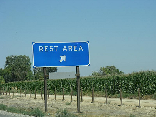 rest area exit sign 1