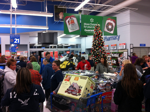 Black Friday, Walmart, Linton IN