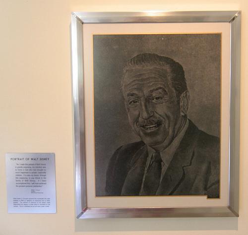 Portrait of Walt Disney | Walt Disney Studios (Burbank)